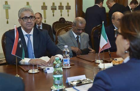 il ministro dell interno libia il ministro trenta riceve il ministro dell interno