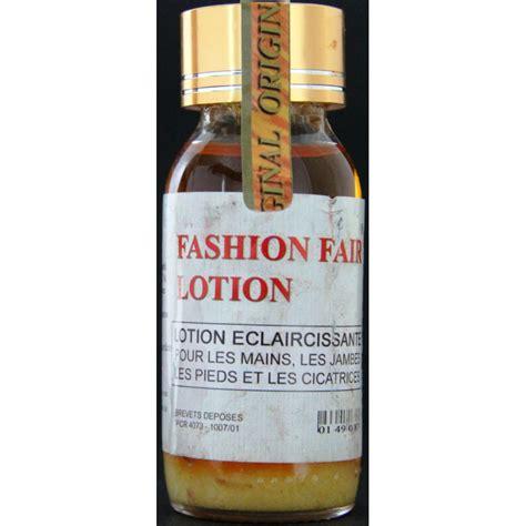 fashion fair lightening lotion hands legs feet edna