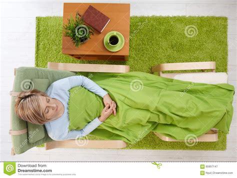 sleeping armchair woman sleeping in armchair stock image image of high