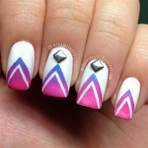 ombre pattern nails 16 super cool ombre gradient nail art tutorials hot