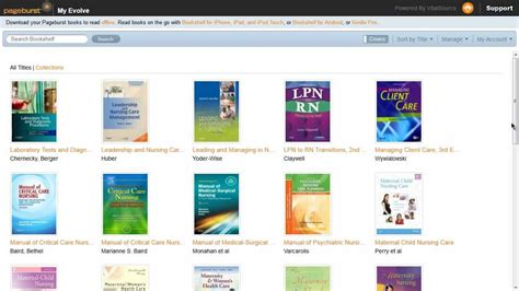 bookshelf vital source login 28 images creating an