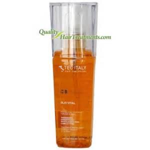 una hair products from italy tec italy olio vital tratamiento concentrado revitalizante