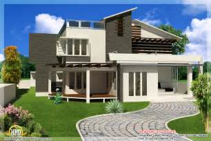 modern home blueprints new contemporary mix modern home designs kerala home