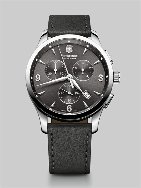 Swiss Army Sa0162 Black 1 victorinox alliance chronograph for lyst