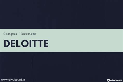 Deloitte Mba Competition 2017 by Deloitte Eligibility Criteria Selection Process For