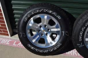 Chevy Truck Wheels And Tires For Sale Chevy 18 Inch Wheels White Letter Tires Oem Factory