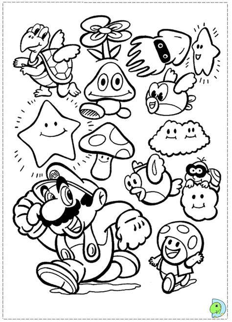 printable mario images games super mario bros coloring pages printable kids
