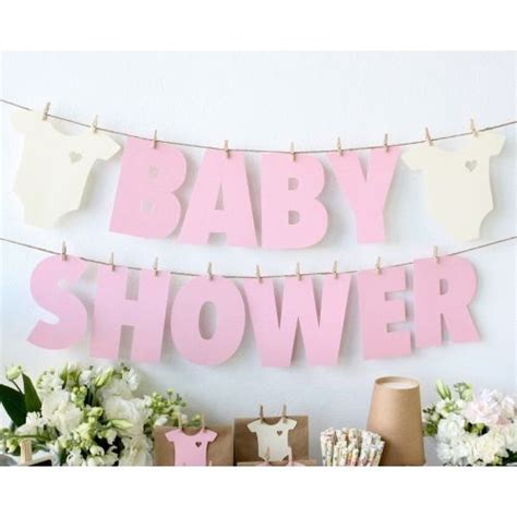 baby shower d baby showers showers and paper garlands on