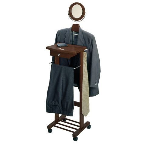 valet stand winsome wood valet stand walnut kitchen dining