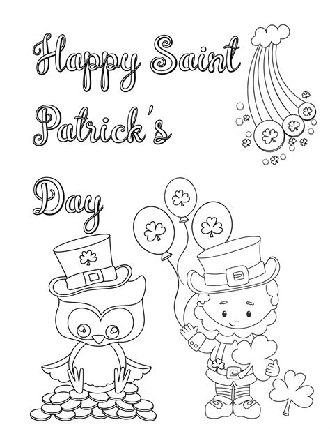 free printable st day coloring pages free printable st s day coloring pages 4 designs