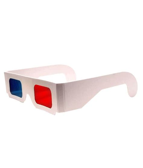 How To Make 3d Glasses With Paper - buy modern anaglyph paper frame 3d glasses set of 50