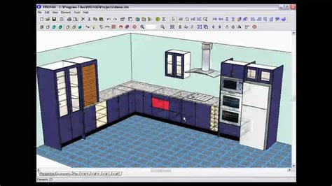 design video pro100 3d design software demo v4 youtube
