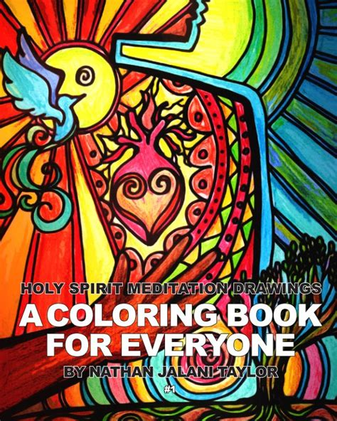 santa s view coloring book for everyone books holy spirit meditation drawings a coloring book for