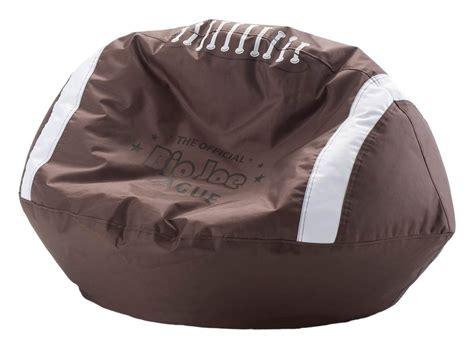 boys bean bag sporty shaped bean bags home designing