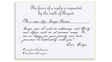 wording for wedding invitation reply cards the wedding