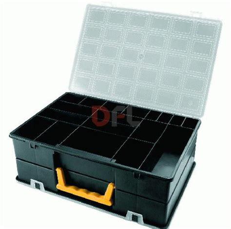 cassette da lavoro valigetta cassetta 18 scomparti porta minuteria porta