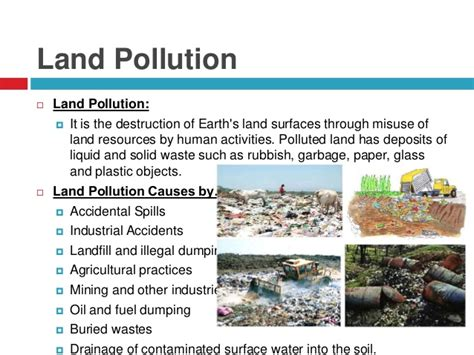 Landscape Pollution Definition Go Green Save Earth Land Water And Air Pollution