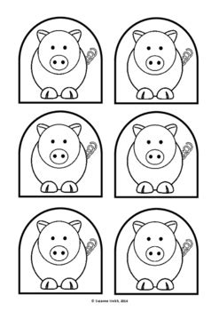 the three pigs puppet templates the three pigs stick puppet templates 3
