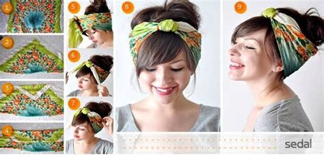 Pin Up Scarf Hairstyles by Pin Up Hairstyles With Scarves Hair Styles