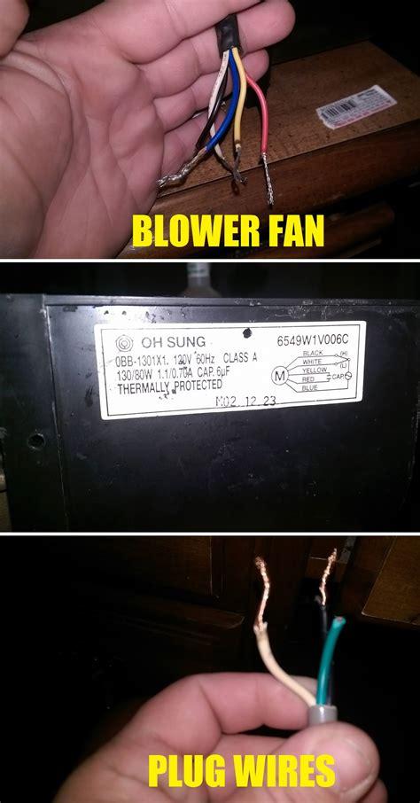 fan electrical wiring black white fan tractor engine