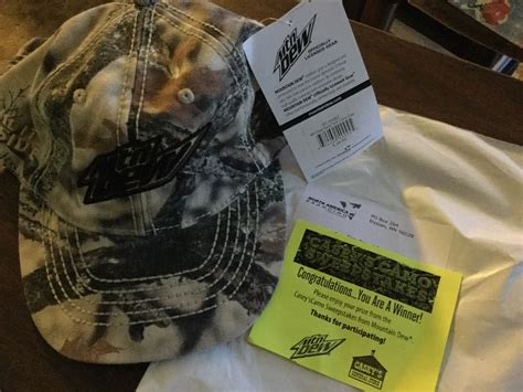 Dew General Store Sweepstakes - winner in the casey s camo sweepstakes free stuff times what i got