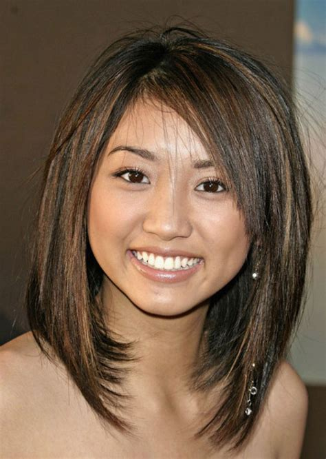 long layered cut with slant bang 235 best images about hair cut on pinterest