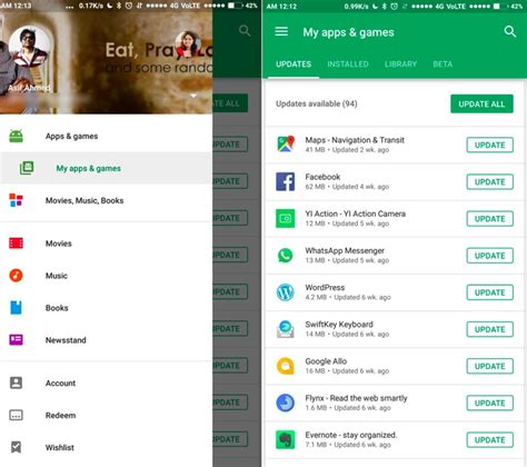 Play Store Update Play Store Update Makes Managing Installed Apps Easier