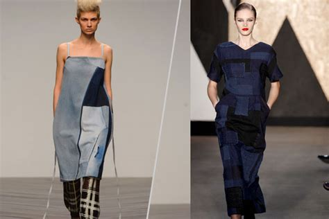 Patchwork Denim Trend - wear this fall trend now patchwork denim thefashionspot