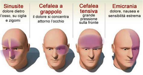 sinusite mal di testa rimedi tutti i tipi di mal di testa e come alleviarli in