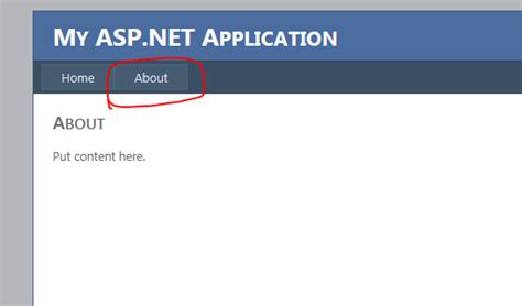 css templates for asp net web application asp net why menu item is not selected after pressing it