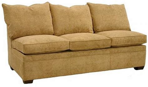 Armless Sleeper Sofa Byron Sectional Armless Sleeper Sofa Sectional