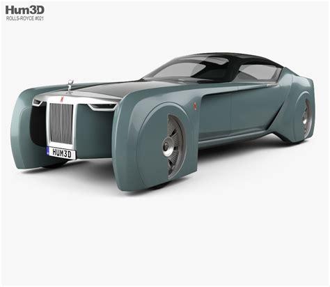 rolls royce vision rolls royce 103ex vision 100 2016 3d model hum3d
