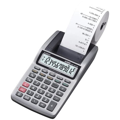 Mesin Kalkulator Kasir kalkulator printer murah praktis cetak nota tanpa perlu