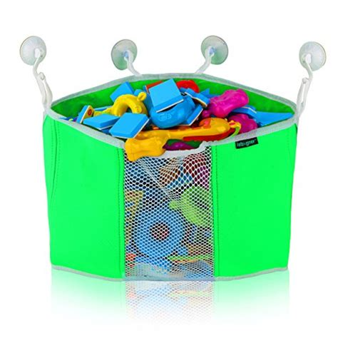 bathroom toy storage corner toy shower caddy by lebogner baby bath toy