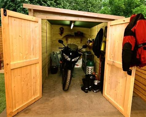 Motorcycle Storage Shed by The Billyoh Motorbike Storage Shed