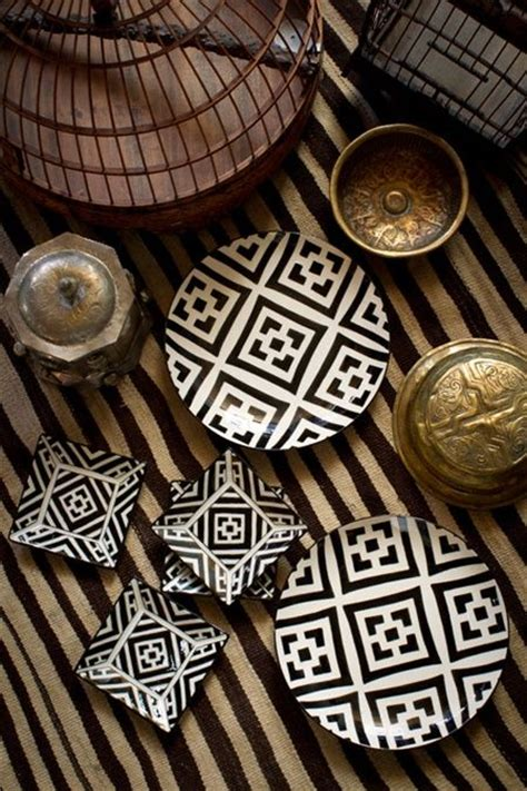 tribal pattern dinnerware design trend the new tribal vibe in interiors is straight