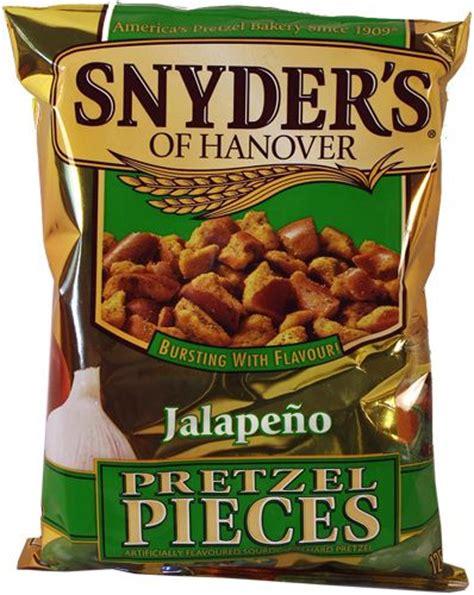 Snyder S Snyders Jalapeno 125gr snyder s jalapeno pretzel pieces accidentally vegan dads the o jays and
