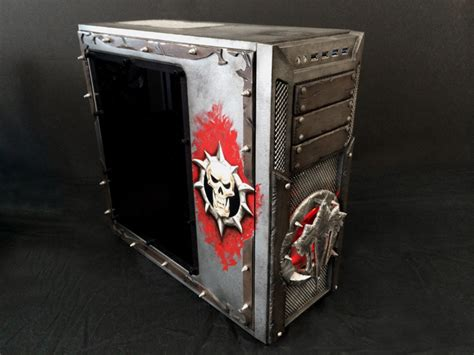pc game mod tools antec 1100 case mod tribute to iron horde from world of