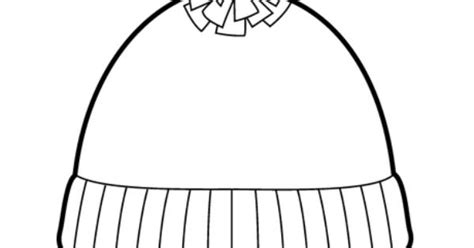 stocking hat coloring page short stocking hat coloring page ikverno pinterest