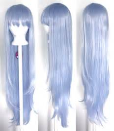 periwinkle hair style image 40 long straight with short bangs periwinkle blue