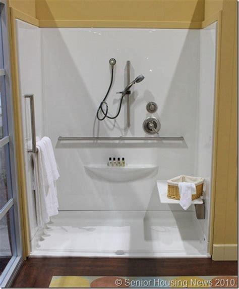 Senior Shower Stalls by Idea House Senior Housing Shower Senior Housing News