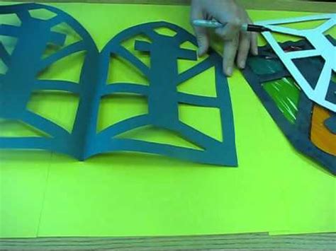 How To Make Paper Glass - lorri makes a renaissance stained glass window