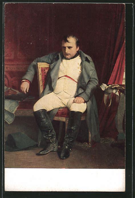 napoleon stuhl ak napoleon napoleon sitzt nachdenklich auf einem stuhl nr