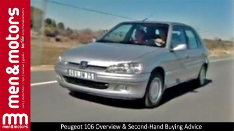 buy second hand peugeot peugeot 106 overview second hand buying advice youtube