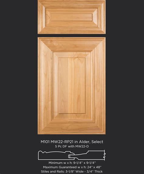 M101 Mw22 Rp21 Alder Select Taylorcraft Cabinet Door Alder Cabinet Doors