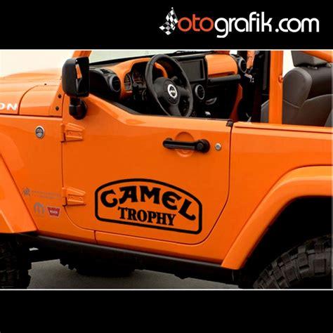 camel trophy logo oto sticker set otografik