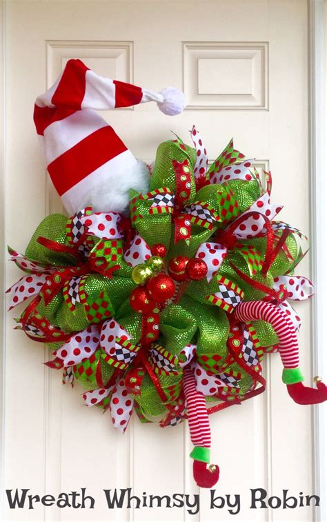 wreaths with lights xl deco mesh wreath in lime green with