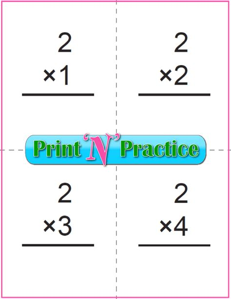 printable multiplication flash cards printable multiplication worksheets for kids