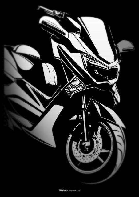 Decal Nmax 7 widjana nmax vector