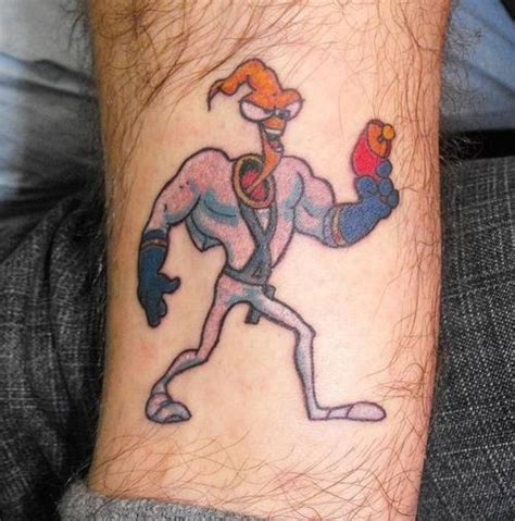 90s cartoon tattoos 21 epically nostalgic 90s as tattoos